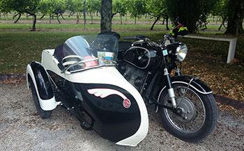 Amicale Motos et Scooter Anciens à l'Ecomusée du Cognac