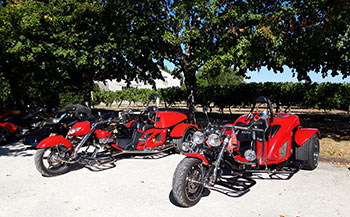 Motorcycles Club at the Ecomuseum in september